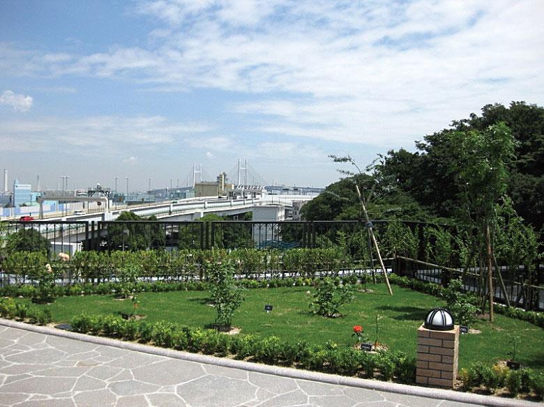 緑豊かな空間