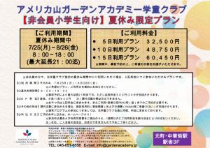 160601_【非会員小学生向け】夏休み限定プラン(詳細)_01